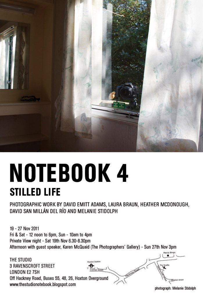 Invite for Notebook4 show
