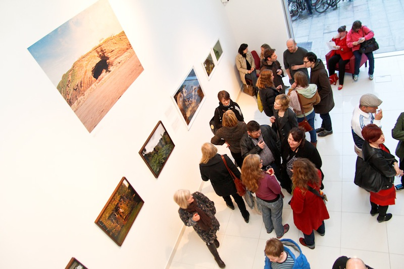 People at private view